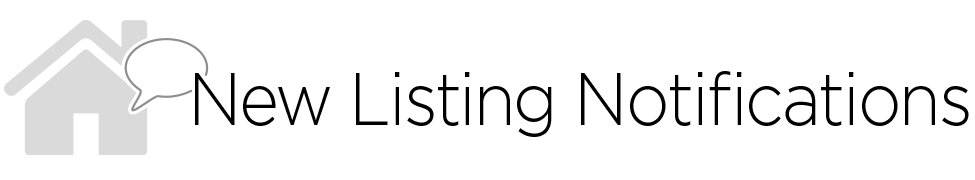 New Listing Notifications